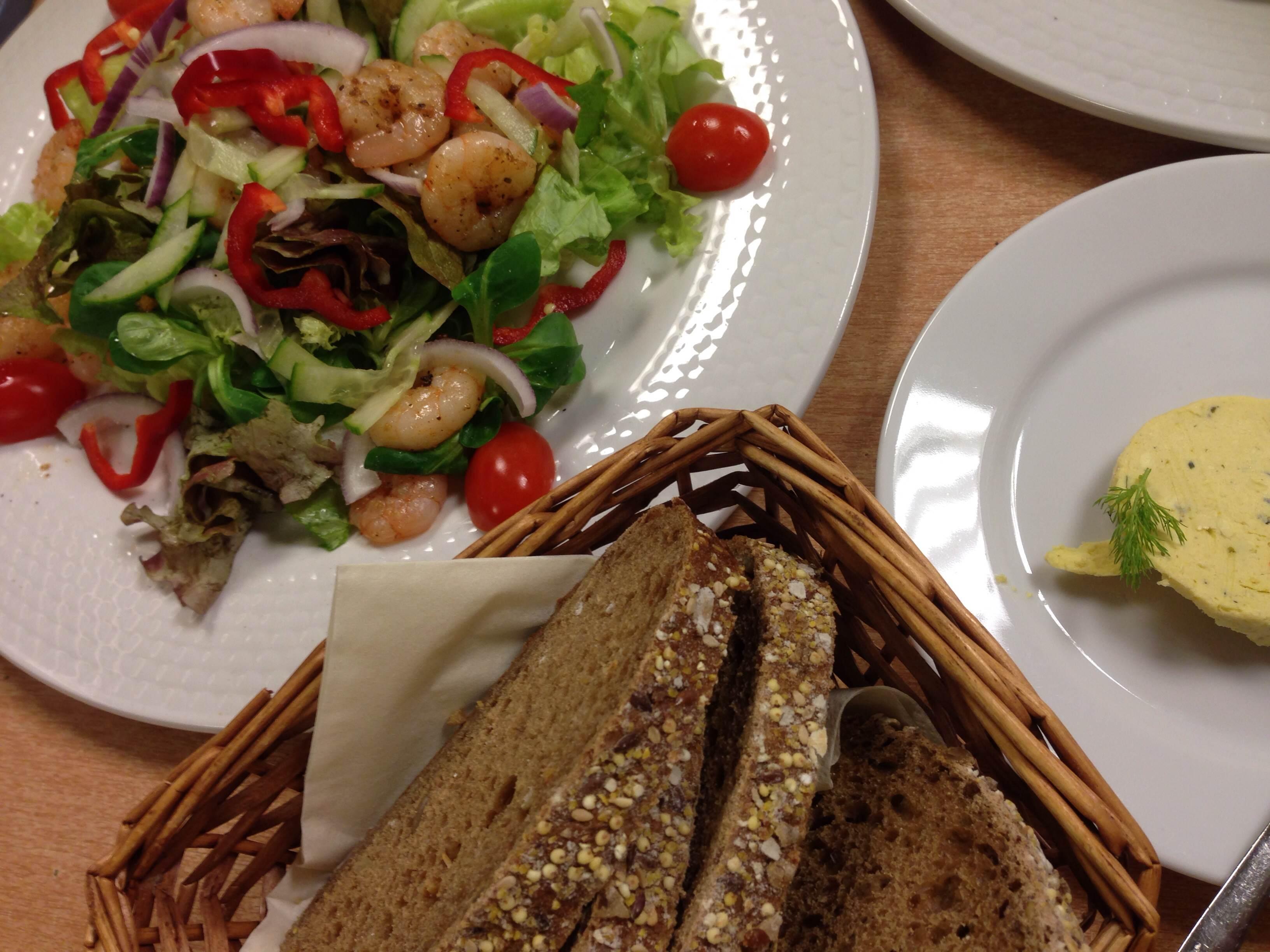 Salade-scampie