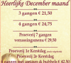 Heerlijke December ...